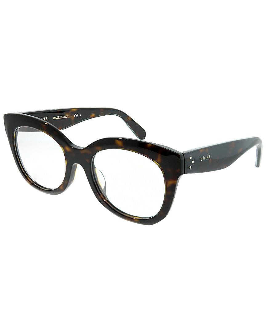 92a685a726a Celine Unisex Square 51Mm Optical Frames In Nocolor