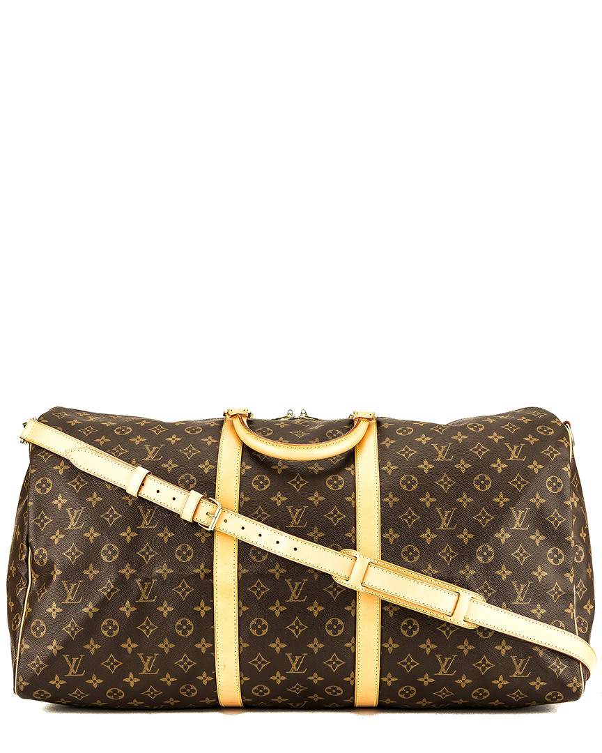Louis Vuitton MONOGRAM CANVAS KEEPALL 60 BANDOULIERE