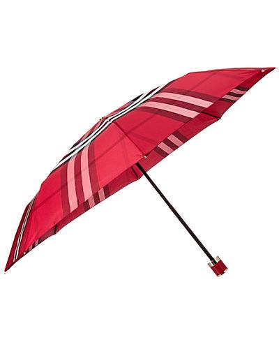 Burberry Check Folding Umbrella