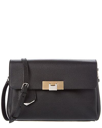 Balenciaga Le Dix Soft Courrier Leather Shoulder Bag