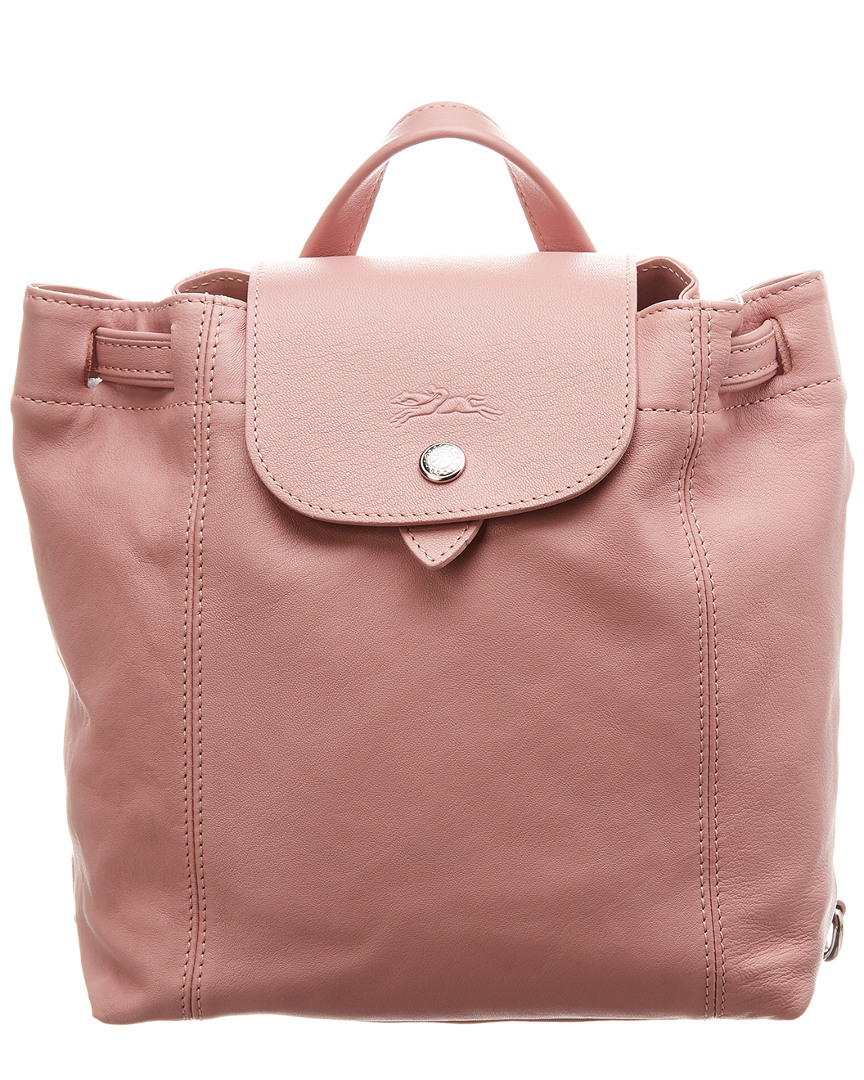 71a8f6536c9a Details about Longchamp Le Pliage Cuir Xs Leather Backpack