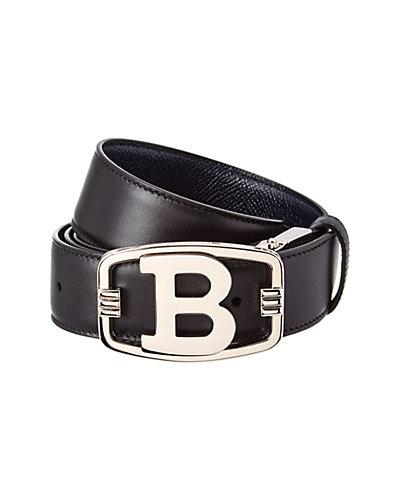 Bally Blinn B Buckle Reversible & Adjustable Leather Belt