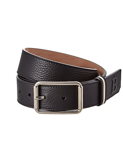Bally Greene Adjustable Leather Belt