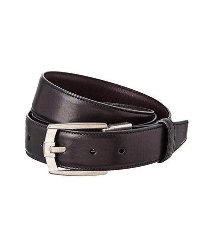 Bally Seth Adjustable & Reversible Leather Belt