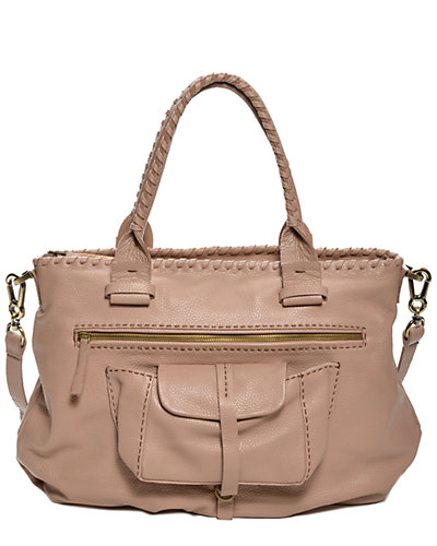 Carla Mancini Gisele Leather Shoulder Bag