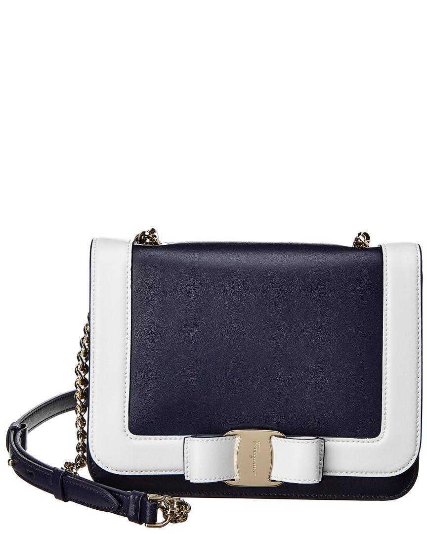 bc725c3b5b25 Salvatore Ferragamo Vara Medium Leather Shoulder Bag