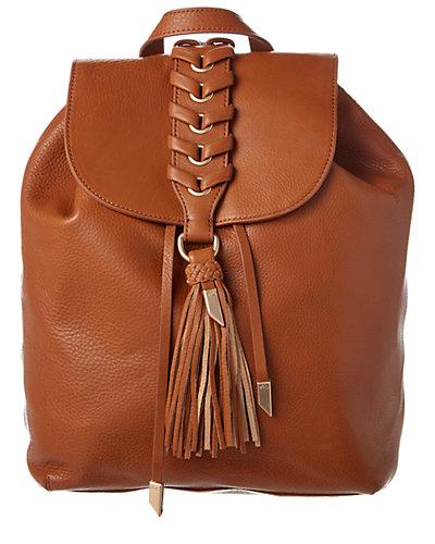 Foley + Corinna La Trenza Leather Backpack