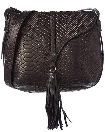 Foley + Corinna Arrow Leather Saddle Bag