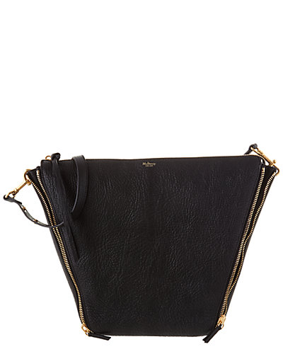 Mulberry Camden Textured Goat Leather Shoulder Bag