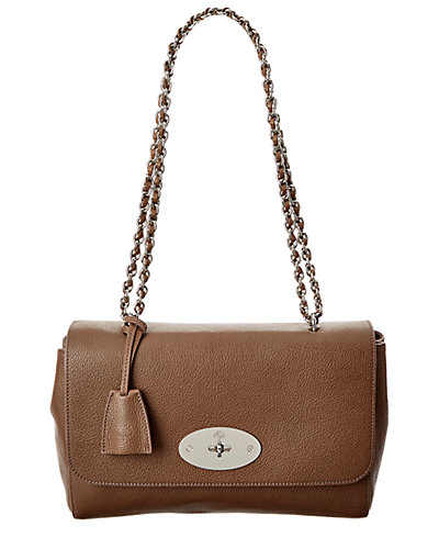 Mulberry Medium Lily Small Classic Grain Leather Shoulder Bag