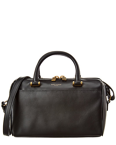 Saint Laurent Baby Leather Duffel Bag by Saint Laurent