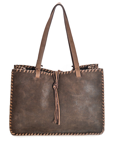 Carla Mancini Signature Leather Tote