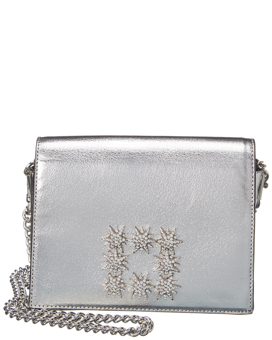 Stuart Weitzman Vivie Leather Clutch