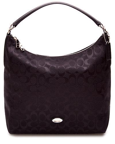 Coach Celeste Signature Canvas Shoulder Bag