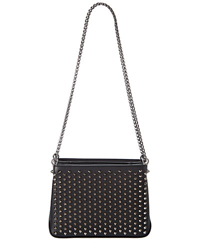 Christian Louboutin Triloubi Small Leather Chain Bag