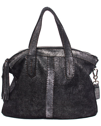 Carla Mancini Vivienne Suede Top Zip Shoulder Bag
