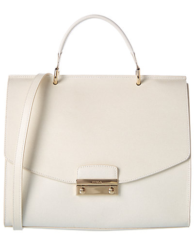 Furla Julia Medium Leather Satchel