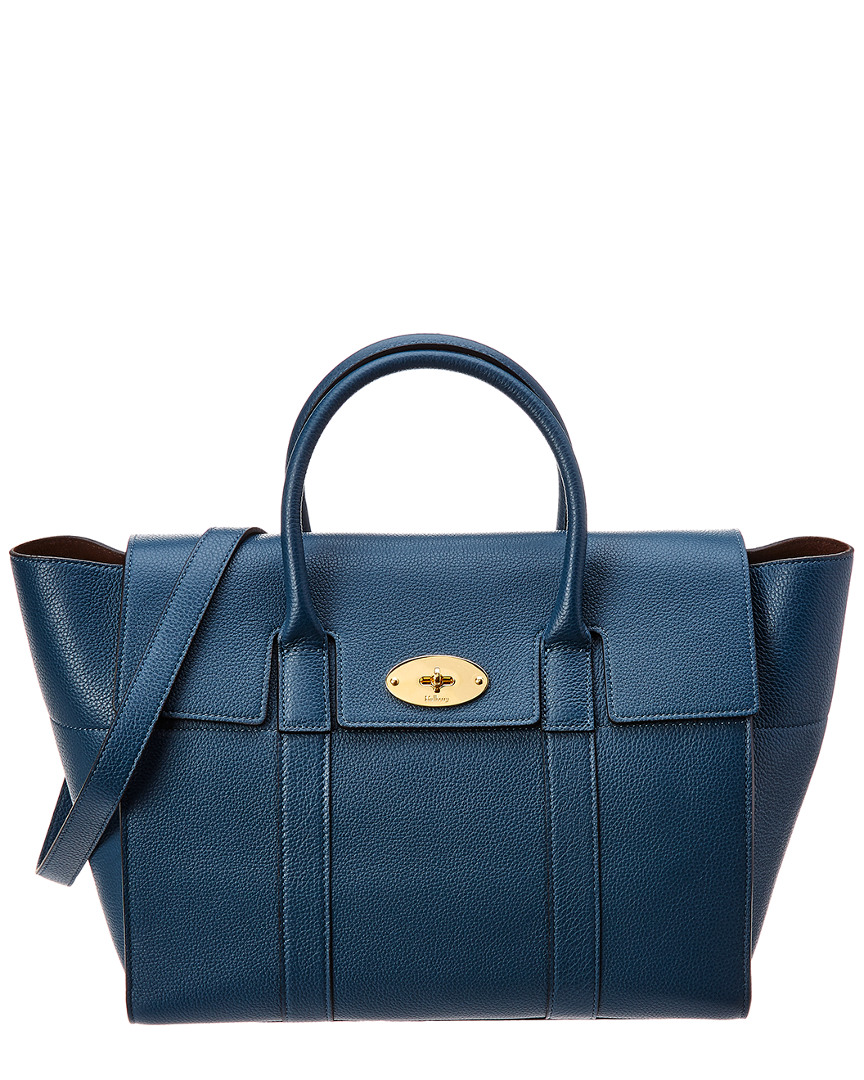 22f2316c70cd Mulberry Bayswater Small Leather Tote