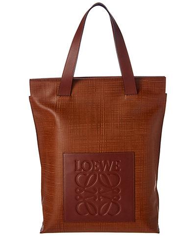 Loewe Leather Shopper Bag