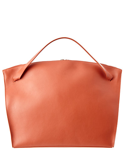 Jil Sander Hill Calf Leather Tote