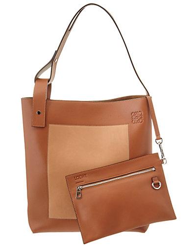 Loewe Asymmetric Medium Leather Tote