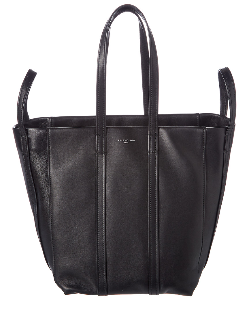 LAUNDRY CABAS SMALL LEATHER SHOPPER TOTE
