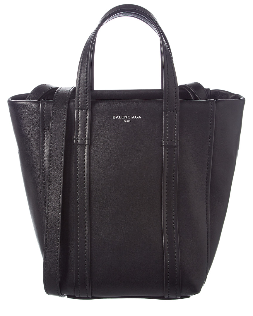 LAUNDRY CABAS XS LEATHER SHOPPING TOTE