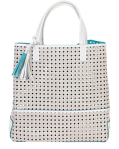 Buco Large Fiore Leather Tote