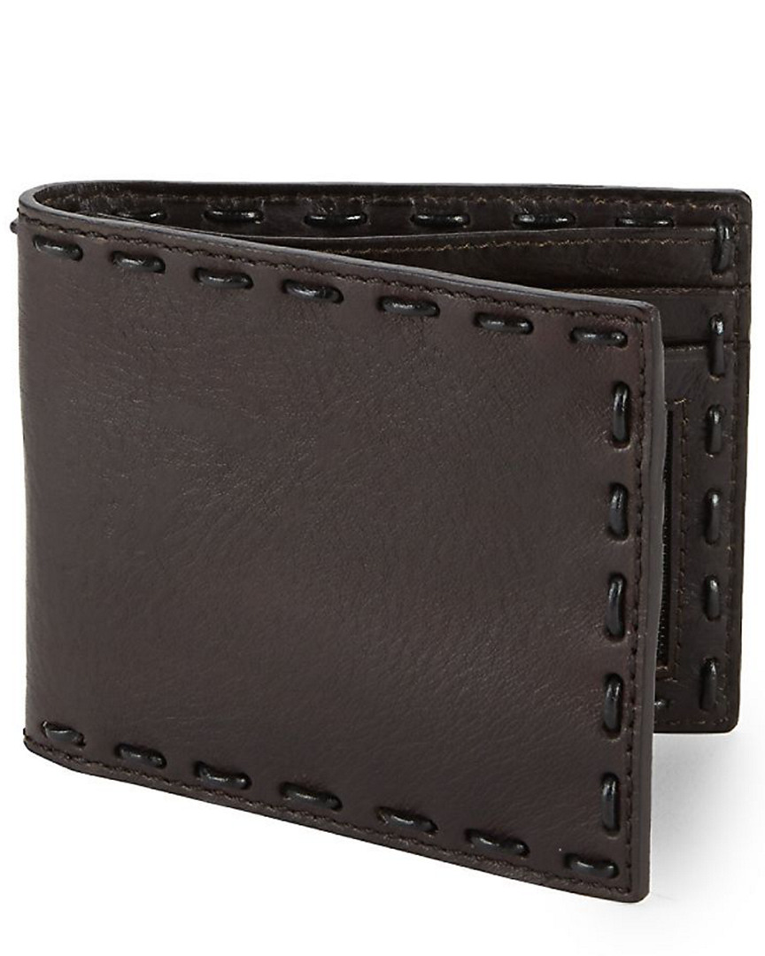 411587ea5357 John Varvatos Star U.S.A Mens . Leather Continental Wallet ...