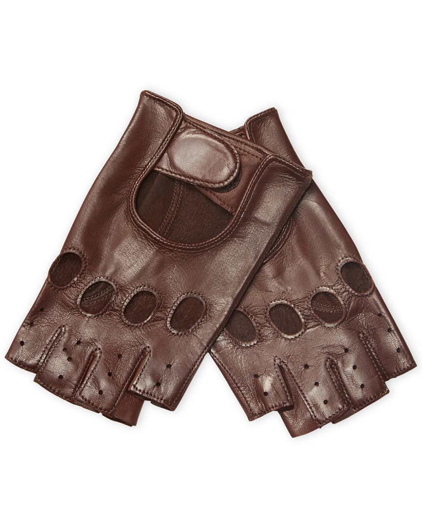 Maison Fabre Perforated Leather Gloves 11667708810001