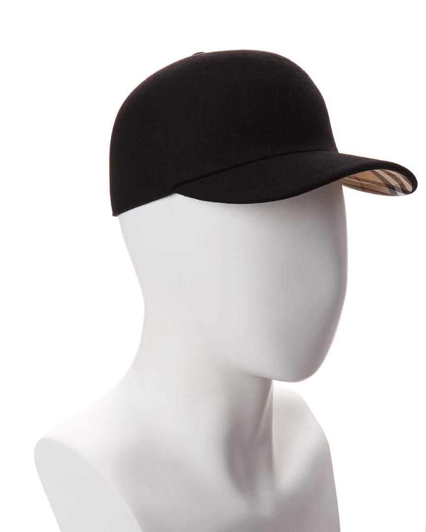 Burberry Felted Wool   Cashmere-Blend Baseball Cap  05828bac4f1