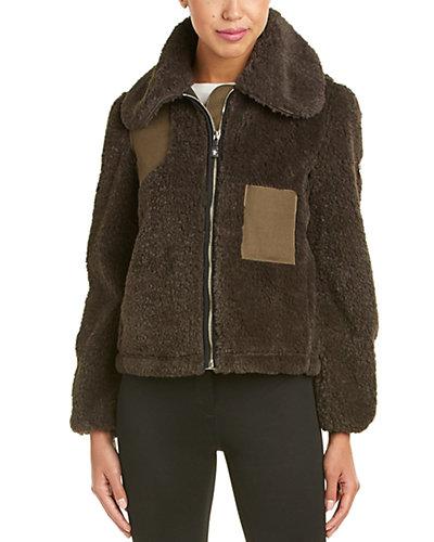 Moncler Wool-Trim Jacket