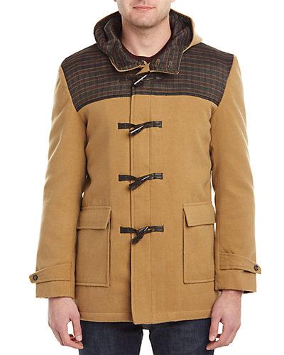 Paisley & Gray Slim Fit Duffel Coat