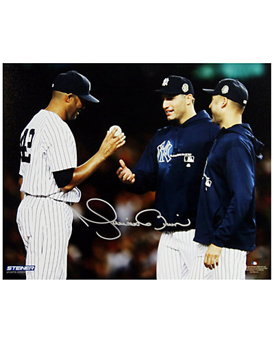 """Steiner Sports Mariano Rivera """"Mound Close Up"""" Autographed Photograph"""