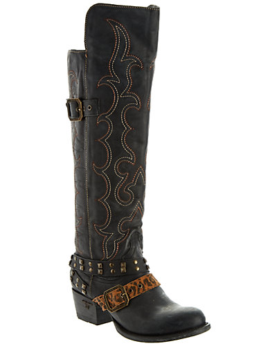 Lane Boots Women's Julie Leather Riding Boot