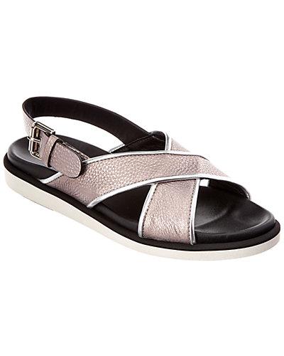 Aquatalia Eloise Leather Waterproof Sandal