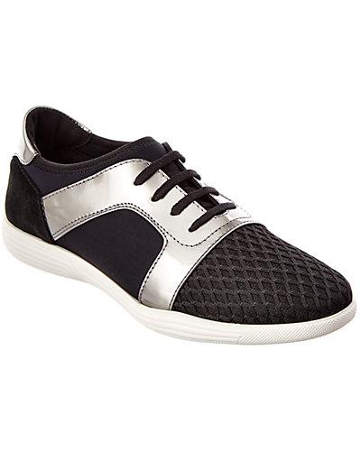 Aquatalia Georgia Leather Waterproof Sneaker
