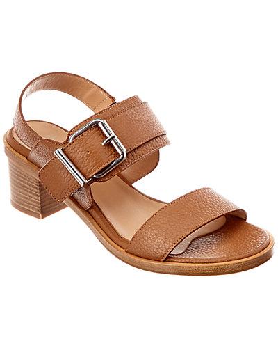 Aquatalia Olympia Leather Waterproof Sandal