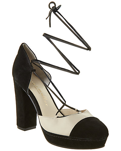 Bettye Muller Madison Leather & Suede Pump