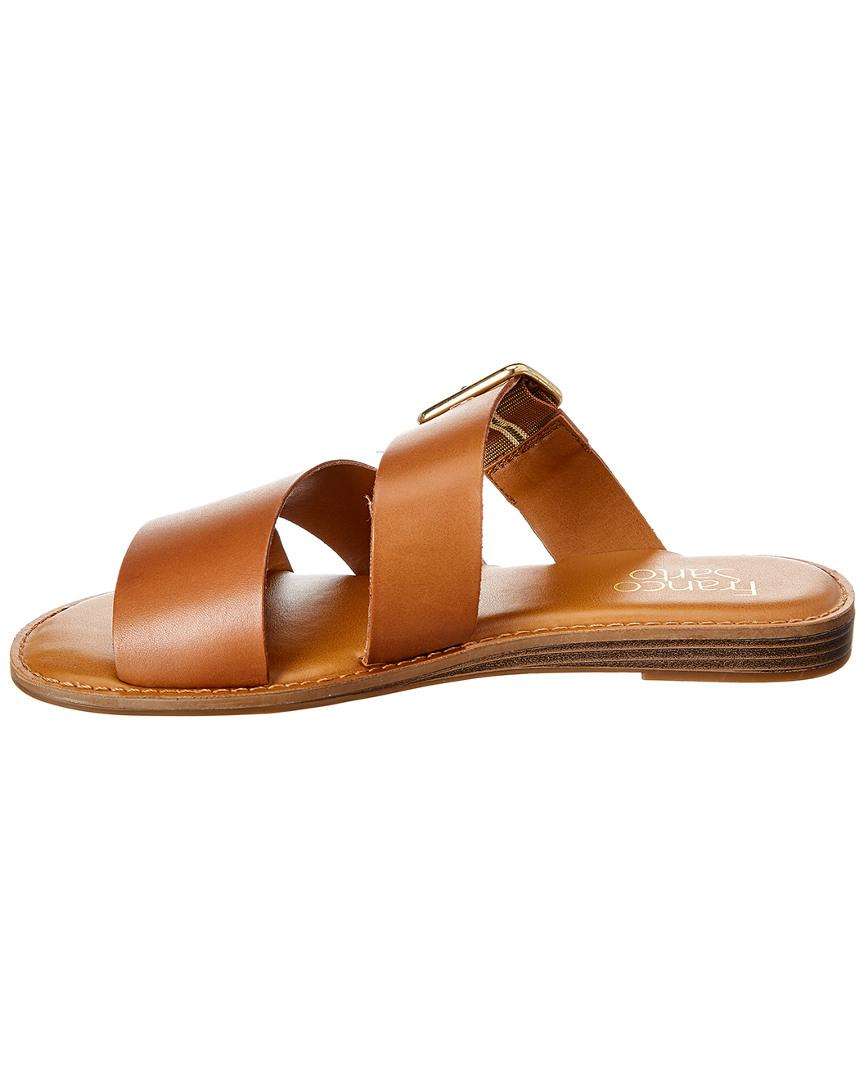 Franco-Sarto-Gevira-Leather-Sandal-Women-039-s thumbnail 10
