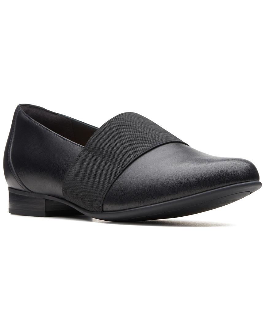 5ea3f3d883c81 Clarks Un Blush Lo Womens Loafers Black Leather 8.5 for sale online ...