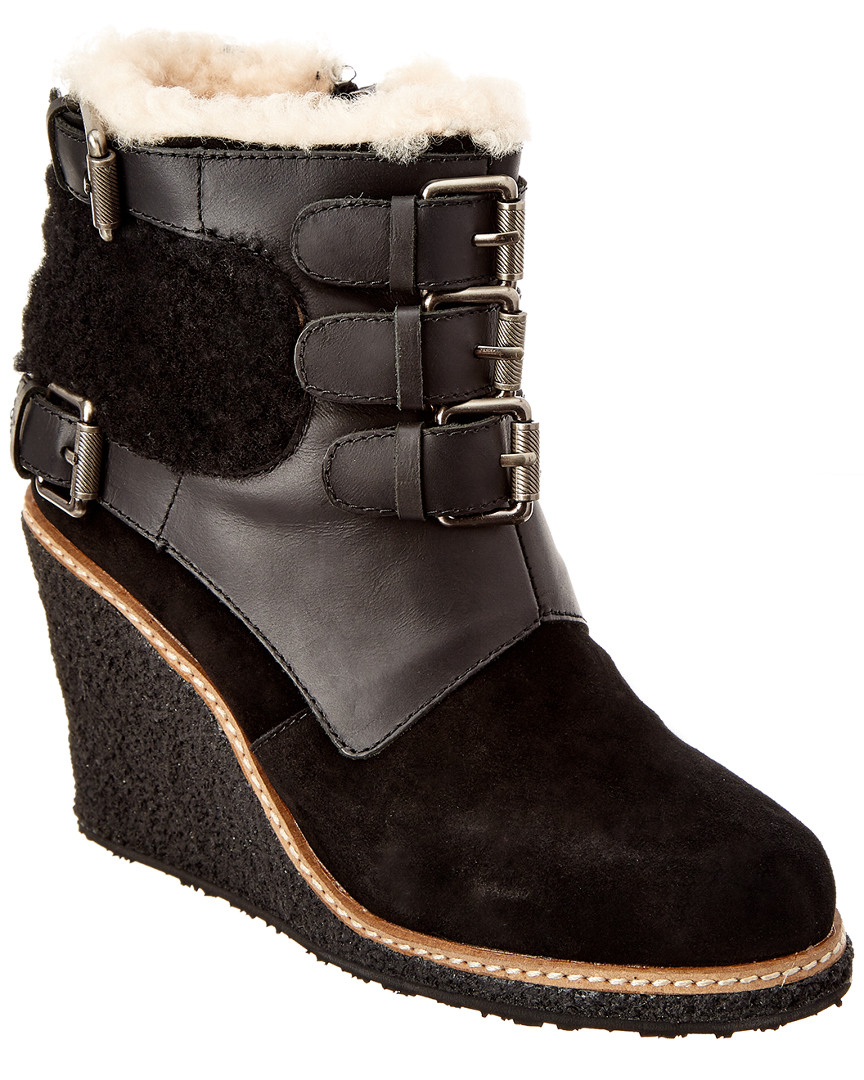 Australia Luxe Collective MONK SUEDE WEDGE BOOT