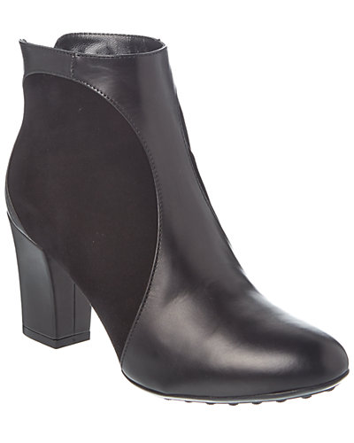 Aquatalia Harvard Waterproof Leather & Suede Bootie