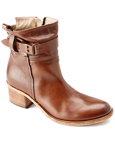 """Alberto Fermani """"Russi"""" Leather Ankle Boot"""