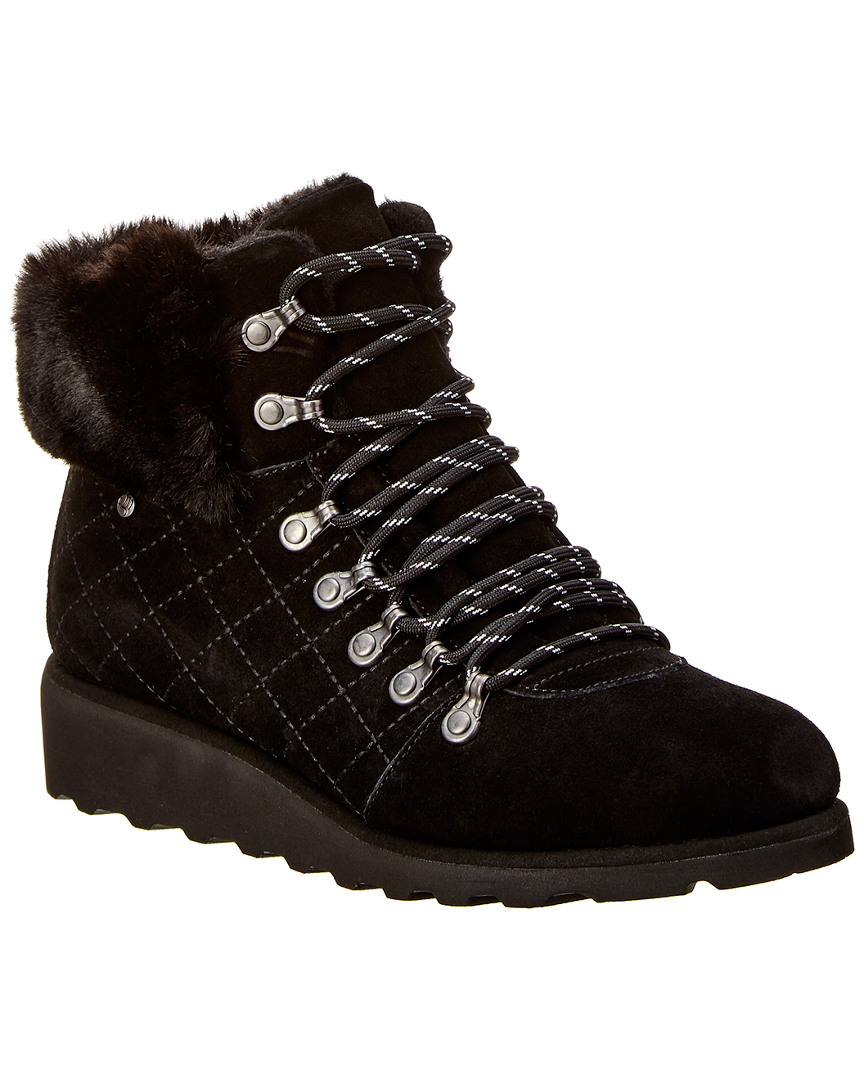 44b6efa23d10 Bearpaw Janae Never Wet Water-Resistant Suede Boot