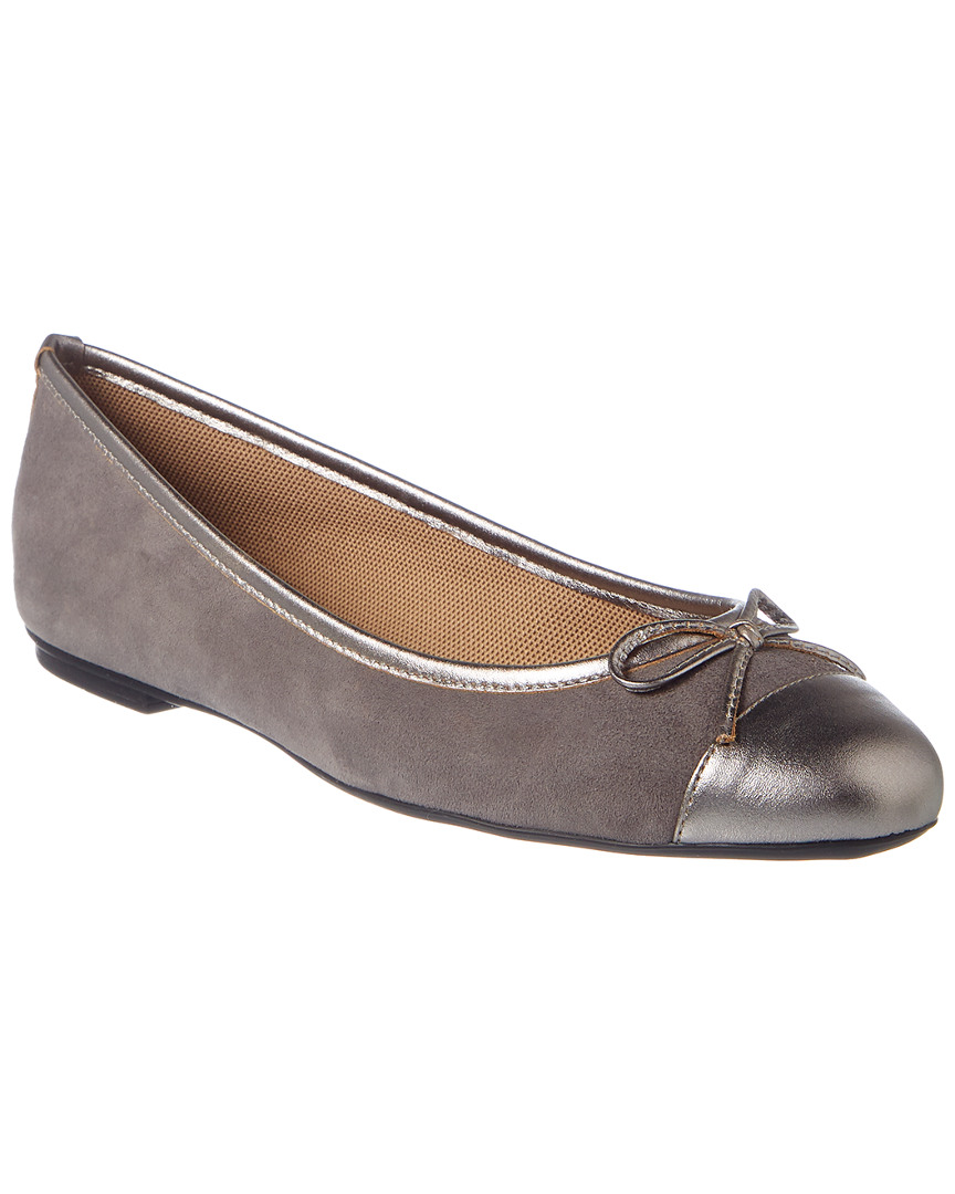 French Sole TOLKIEN SUEDE FLAT