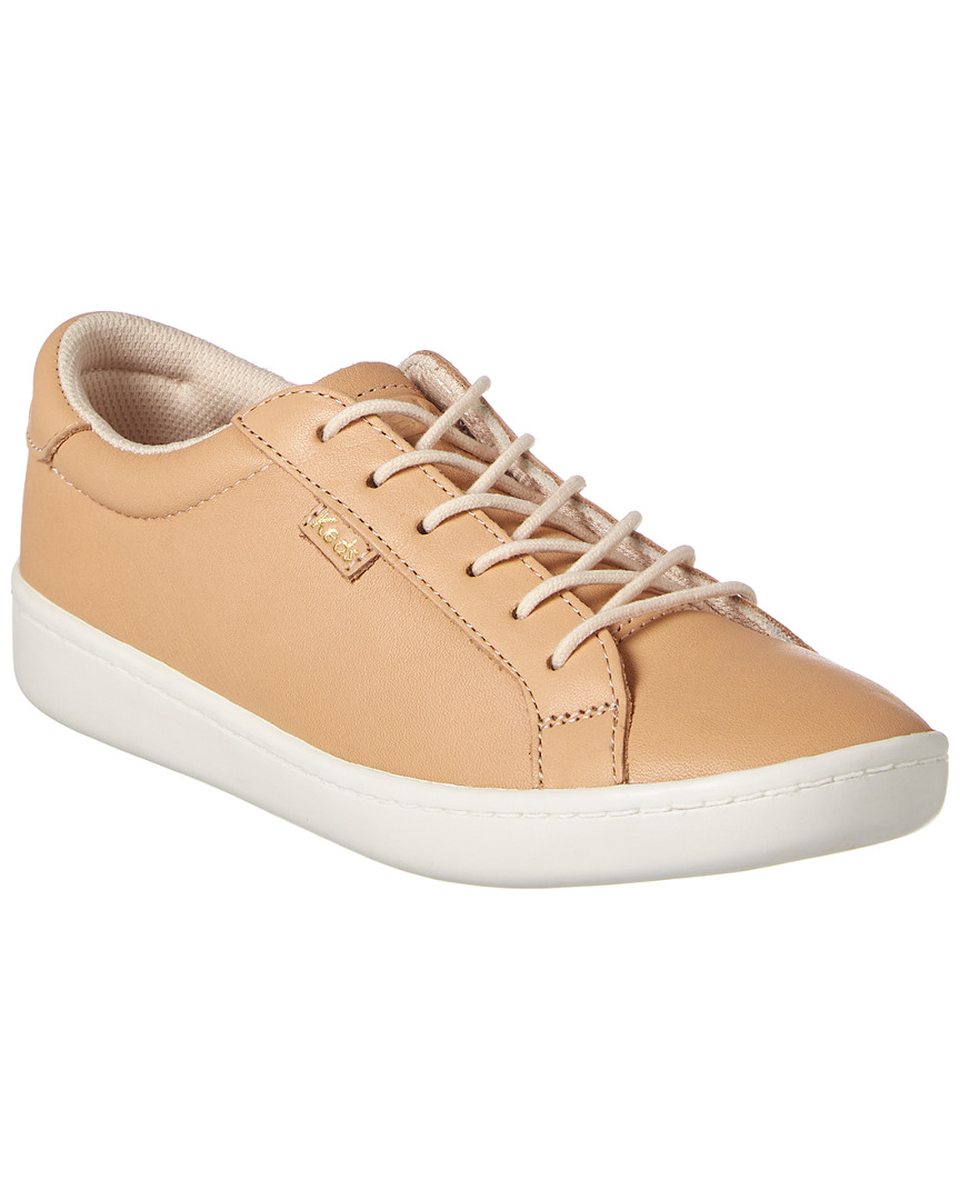 ACE NATURAL LEATHER SNEAKER