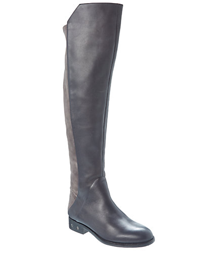 Carolinna Espinosa Corbin Leather & Suede Over-The-Knee Boot