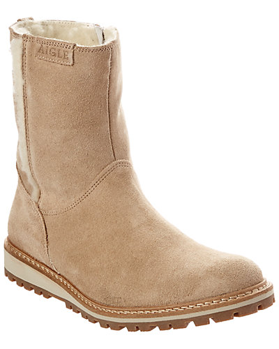 Aigle Bootnut Suede Boot