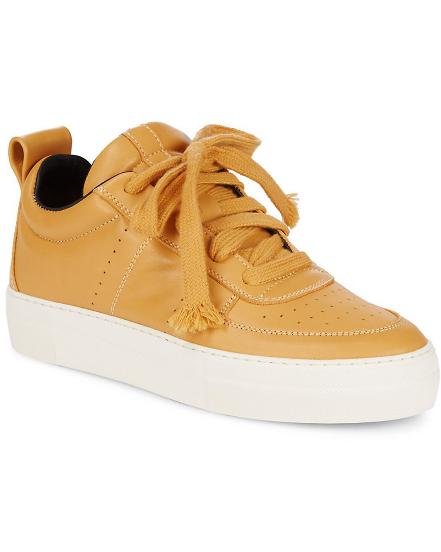 Helmut Lang Low Top Leather Sneaker 13117980570000